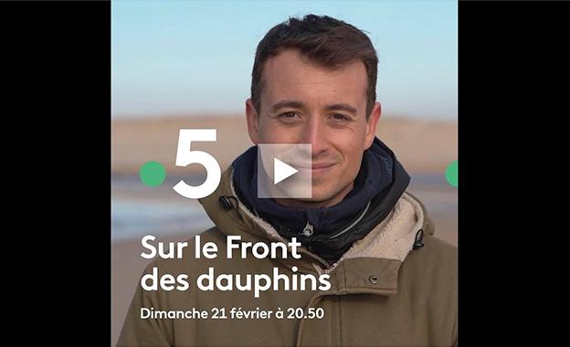 extrait - sur le front des dauphins : Hugo Clément